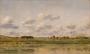 Charles-Francois Daubigny, Ufer des Flusses Loing, späte 1860er, Staatliche Eremitage St. Petersburg