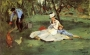 Edouard-Manet-the-monet-family-in-the-garden