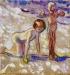 Edvard-Munch-Childhood-1908-oil