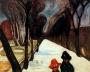 Edvard-Munch-snow-falling-in-the-lane-1906